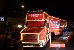 Coca Cola Christmas Truck (Uktransportvideos82) Tags: santa xmas truck cola metro centre coca