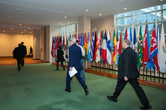 Secretary Kerry Walks to the UN Security Council Meeting on Syria (U.S. Department of State) Tags: newyorkcity un unitednations syria johnkerry unsc