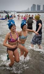 Double the fun (QC Doc) Tags: swim newyear polarbear photowalk 2016 topwhd16