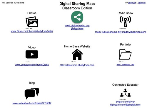 Digital Sharing Map- Classroom Edition by Wesley Fryer, on Flickr