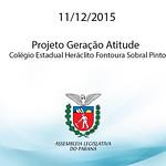 Projeto Gera��o Atitude - Col�gio Estadual Her�clito Fontoura Sobral Pinto