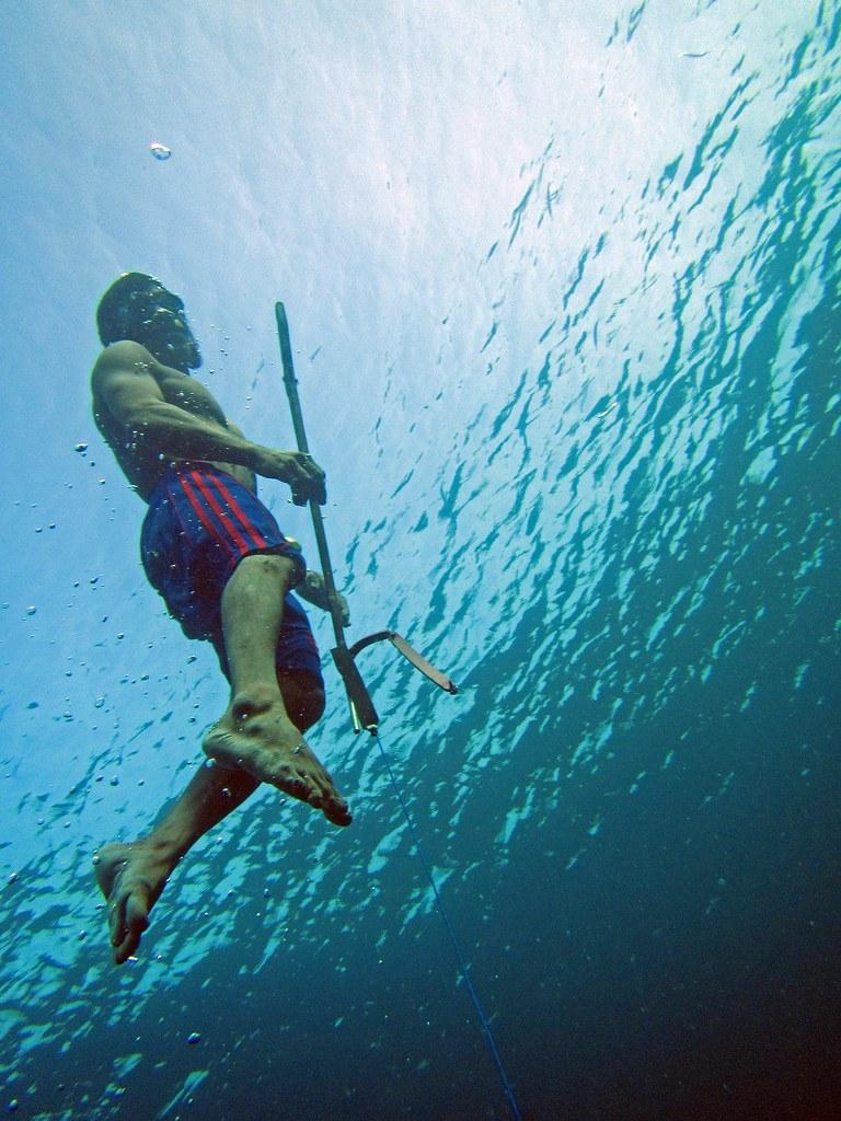 Bajau People Spearfishing