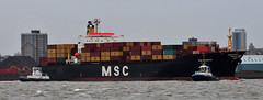 Ships of the Mersey - MSC Sabrina (sab89) Tags: sea sabrina water port liverpool docks manchester canal ship ships terminal cargo estuary container birkenhead oil tug shipping tugs carrier mersey tanker msc chemical wirral tankers bulk runcorn smit seaforth stanlow