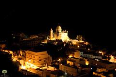 Basilique Notre-Dame d'Afrique (Ath Salem) Tags: algrie algeria algiers alger nuit light night glise basilique notredame dafrique village cleste bouzarah zghara bab eloued lune moon baie       bologhine