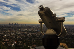 Griffith (nessaalarcon) Tags: griffith observatory losangeles los angeles city sky clouds telescope science astronomy california