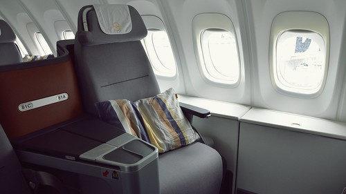 Business Class | Flying on the Inaugural Boeing 747-8 Intercontinental Flight - Lufthansa