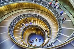 Scala Bramante Vatican museum (jgokoepke) Tags: scalabramante vatican rome italy hdr museovaticano vaticanmuseum