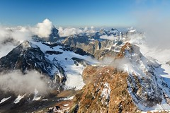 Cloudy panorama from Piz Buin (Photo_Flow) Tags: switzerland schweiz landscape landschaft 7dii glacier gletscher alps alpen alpineering summit peak panorama