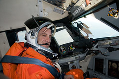 Charles Hobaugh (NASA on The Commons) Tags: charleshobaugh scorch shuttletrainingaircraft training pumpkinsuit