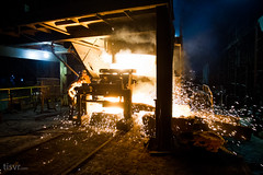All Your Steel: Workers (UJMi) Tags: iron lahore pakistan steel steelmill fire industrial night sony nex nex7 electric furnace smelter hardwork ironwork idustry