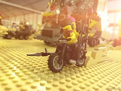 Stack, Dubai 2016 (willgalb) Tags: lego mad max fury road warrior beyond thunderdome car motorcycle moc postapocalypse melgibson georgemiller tomhardy wasteland