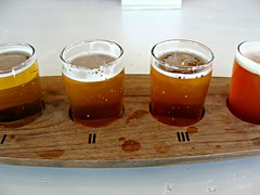 Sampler (knightbefore_99) Tags: vancouver eastvan hastings strathcona brewing craft beer tasting room west coast bc canada pacific pint glass cerveza pivo sampler