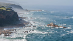 Rugged Coast of the Western Cape Province, South Africa (Butch Osborne) Tags: africa southafrica cape outdoor ocean coast coastline shore knysna awesome amazing scenic fabulous beautiful rugged cliffs nature travel adventure wild surf breakers sea