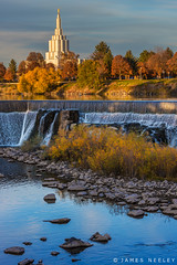 I Love to See the Temple (James Neeley) Tags: idahofallstemple ldstemple mormontemple idahofalls jamesneeley