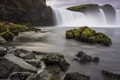 Goafoss (benoitgx) Tags: longexposure nd400 alpha6000 sony godafoss goafoss iceland water waterfall rocks landscape