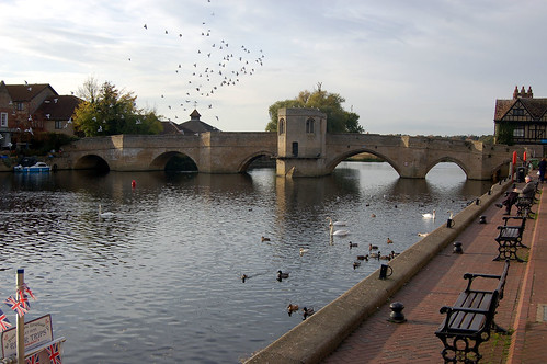 cambs - st ives bridge over river ouse 03-11-16 JL