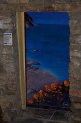 Valloria (116) (Pier Romano) Tags: valloria porte porta dipinta dipinte door doors painted imperia liguria italia italy nikon d5100 paese town dolcedo artisti pittori