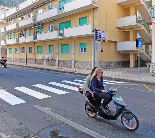 Scooter @ Maiori, Amalfi Coast, Province of Salerno, Campania, Italia, Italy