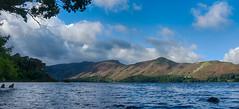 The Lake (tom ballard2009) Tags: derwentwater lakedistrict lake water fells panorama derwent blue landscape