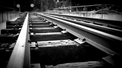 Parallel (himanshu_07) Tags: delhi museum track railway train rail travel line parallel black long length construction outdoor day young
