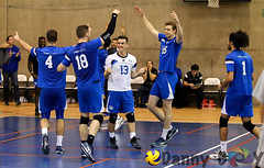 Carabins vs Rouge et Or (Danny VB) Tags: carabins rougeetor laval montreal volleyball university udem sports canon 6d dannyboy celebration win ef70200mmf28lisiiusm