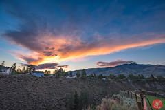 Mountain living (Kasia Sokulska (KasiaBasic)) Tags: fujix canada bc rockies mountains summer landscape kamloops sky clouds sunset