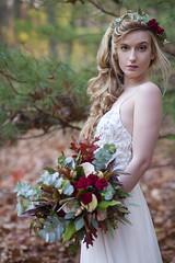 (sarajdsign) Tags: bride bridal wedding weddinghair hairstyles portrait gown flower crown nature