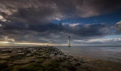 The Local Lighthouse (Rob Pitt) Tags: newbrightonlighthouse wirral clouds sunset breaker