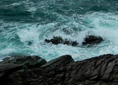 Wave from Coast Trail (Ramona H) Tags: water sea ocean wave waves atlantic atlanticocean polzeath coasttrail cornwall england