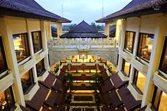 Hotel courtyard entrance (A. Wee) Tags: sheraton  yogyakarta indonesia  mustika resort hotel  spg courtyard
