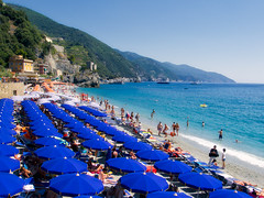 Monterosso al Mare (Jim Nix / Nomadic Pursuits) Tags: aurorahdr2017 cinqueterre europe italy jimnix lightroom macphun mediterranean monterosso nomadicpursuits afternoon beach coastline holiday sunshine travel vacation panasonic lumix lx100