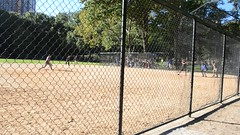 Baseball in Central Park (mettlog) Tags: holiday vacation trip journay vacanza viaggio newyork central park