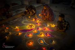 DIWALI 2016 (S.M.Rafiq) Tags: diwali2016 karachi pakistan sindh smrafiq hindu diwali rangoli syedmrafq