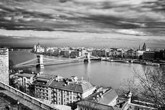 budapest (coPhoto_) Tags: budapest blackwhite panorama city fiume viaggio ungheria