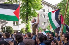 Freedom in Diaspora. Neukölln, May 2016. (joelschalit) Tags: israel palestine occupation exile diaspora ethniccleansing apartheid activism religion street ricohgr berlin neukölln nakbaday nationalism flags refugees
