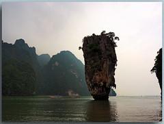 Khao Phing Kan (James Bond Island) (Peterspixel from Peter Althoff) Tags: khaotapu jamesbondisland jamesbond thailand andamanensee themanwiththegoldengun khaophingkan เขาพิงกัน southeastasia felsen island rock
