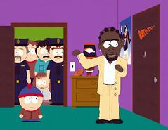 """South Park (pisode """"Tous dans le placard"""") (phototheque.ino) Tags: meilleuressries sries southpark kyle humour comdie animation dessinanim"""
