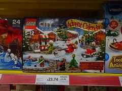 Savings (stevenbrandist) Tags: merseyside liverpool tesco lego advent saving shopping