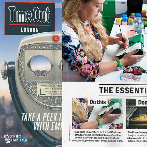 Time Out Peckham Festival 060916 montage