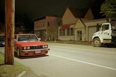 (Patrick J. McCormack) Tags: fuji gw690 kodak portra film 120 analog night glow burlington bmw