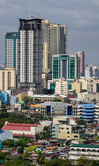 Buildings located at downtown in Manila, Philippines (phuong.sg@gmail.com) Tags: aerial apartment architecture asia building business center city cityscape construction contemporary development district downtown exterior famous finance financial group growth high horizontal house large life lifestyles luzon makati manila metro office outdoors philippines place residential scene sky skyline skyscraper southeast street structure tall tower travel up urban view