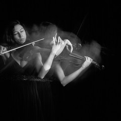 Violine (Jens Taube) Tags: longtime exposure langezitbelichtung violine