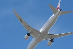 IMG_2626 (wmcgauran) Tags: kbos bos boston airport eastboston aviation airplane aircraft ja863j japanairlines jal boeing 787 787900