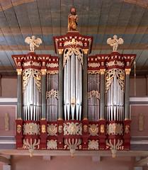 The Organ of Kirchlinteln, Niedersachsen, Germany (Philinflash) Tags: 2016 church churchinteriors europe germany organ orgel otherkeywords places kirchlinteln niedersachsen