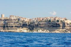 Bonifaccio From The Sea (GarethThomasJones) Tags: sea holiday hot boat town view corsica dslr corsi canonefs1785mmf456isusm canon1785mm canon60d