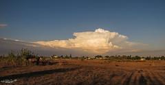 La Reina de las nubes: El poderoso Cumulonimbus o Cumulonimbos.  en Rota... (LolaCorts) Tags: las blanco azul de la reina y cielo nubes cumulus una cdiz nube rota cumulonimbus airelibre mgica tormentosa castellanus fascinante lolacortsneva