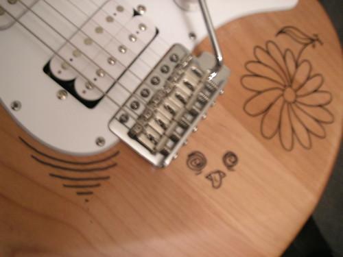 Chevalet de Guitare électrique