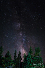 September 12, 2015 - The Milky Way as seen from Brainard Lake. (Tony's Takes)
