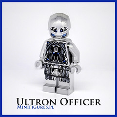 Ultron Officer (Minifigures.pl) Tags: silver prime lego ultimate pad machine chrome age superheroes custom printed rare officer avengers sentry ultron minifigures minifigurespl