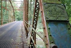 Old bridge (Indiana) (Martijn van Veelen) Tags: bridge indiana toledo toledobridge
